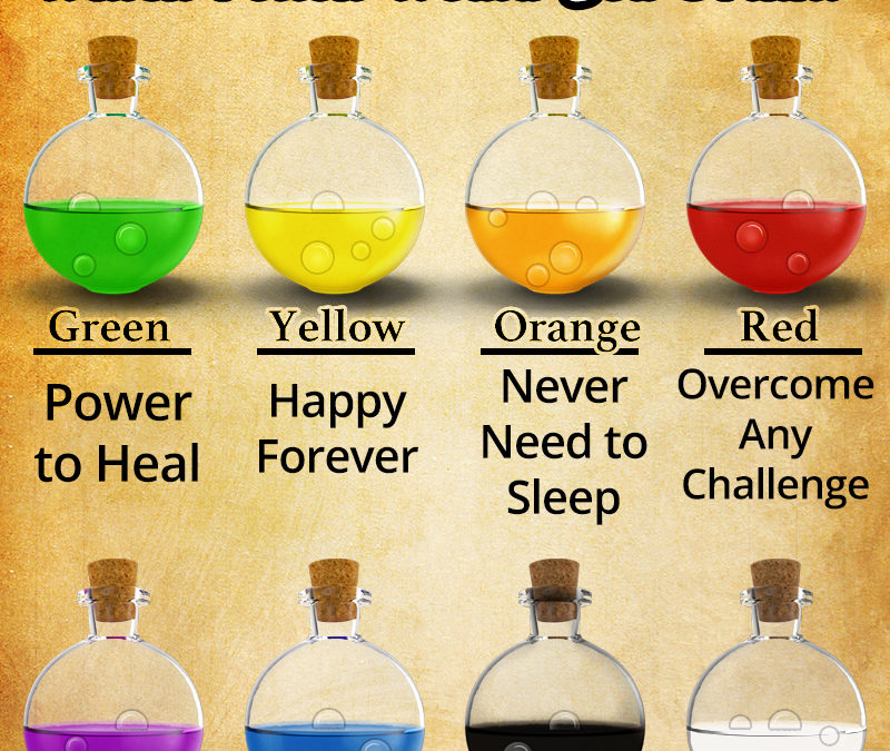 SHARE – What Magic Potion Would You Drink?