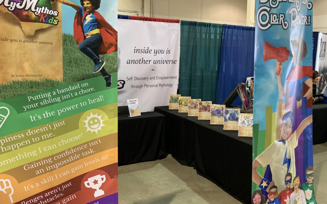 After Thoughts: MyMythos Kids at Boise Kid's Fair 2019!