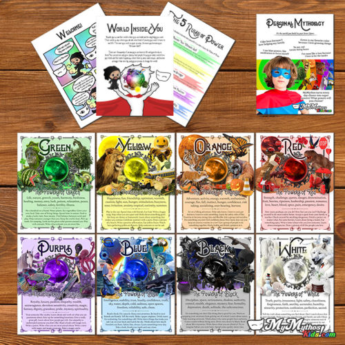 Power Colors Personal Mythology Starter Kit